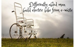 Differently abled man build electric bike from e-waste II E-Wate to Bike II Indian Innovation II
