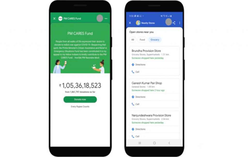 How Google fight against COVID-19 | Nearby Spot | PM CARES | Google Pay | YouTube | United Way | MoHFW | indianmemoir.com