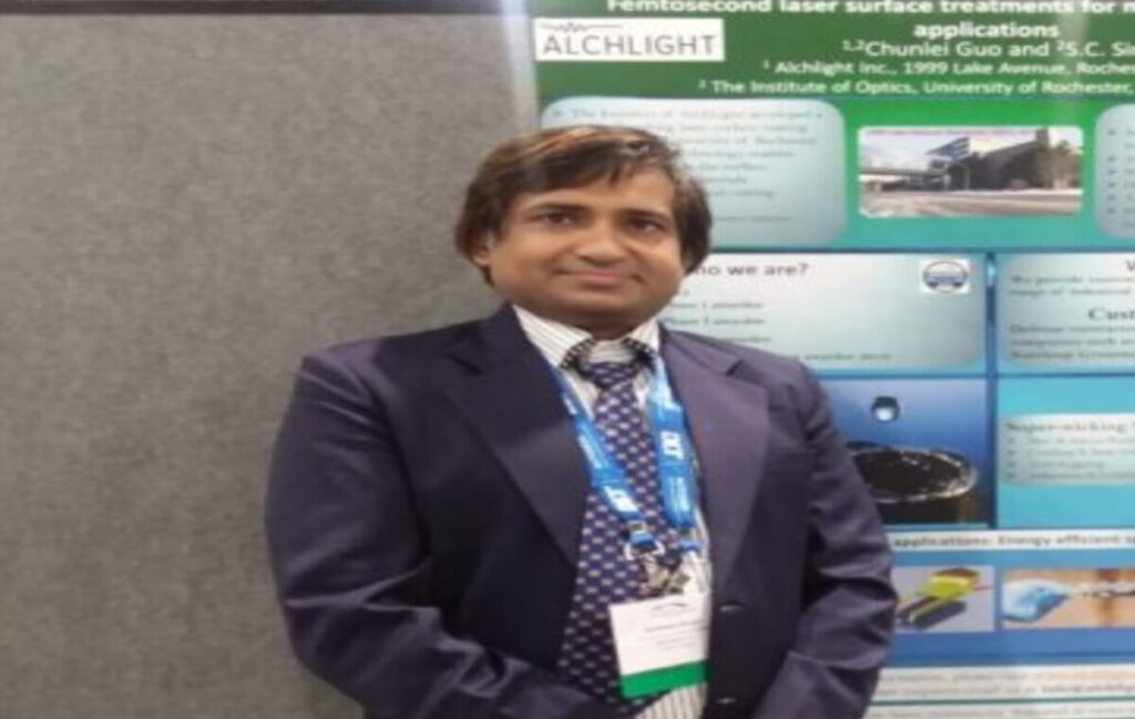 Funded by Bill and Melinda Gates Foundation, AU alumnus discovers a new innovation of water cleansing to solve bad water issues www.indianmemoir.com