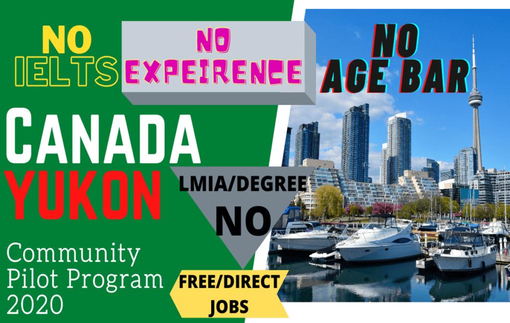 Yukon Community Pilot (YCP) Program 2020 | Jobs in Canada | YCP | PR Program | Yukon | www.indianmemoir.com