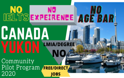 Yukon Community Pilot (YCP) Program 2020 | Jobs in Canada | YCP | PR Program | Yukon | www.indianmemoir.com