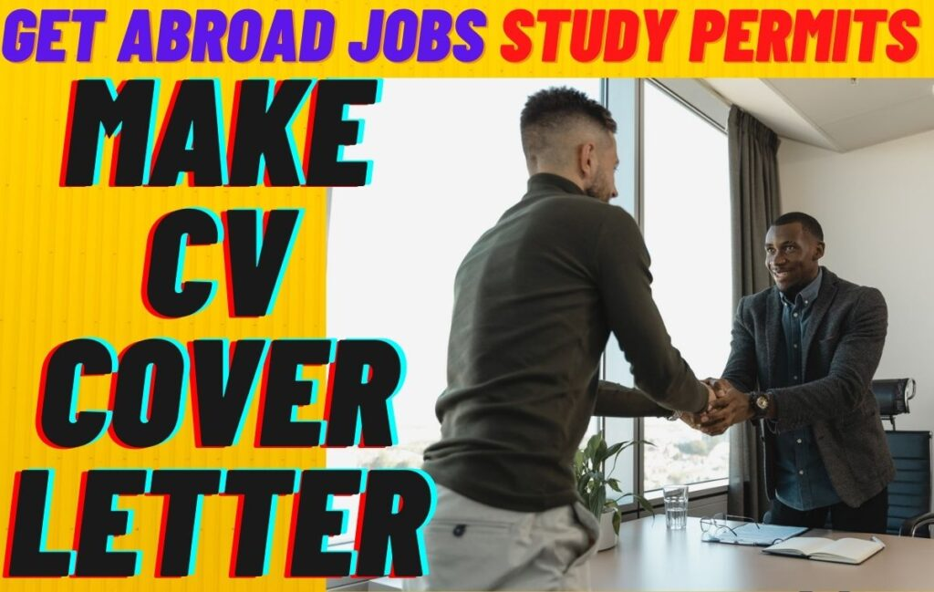 Paid Servies: Make a CV & Cover Letter | Get Abroad Jobs & Study Permits Easily www.indianmemoir.com